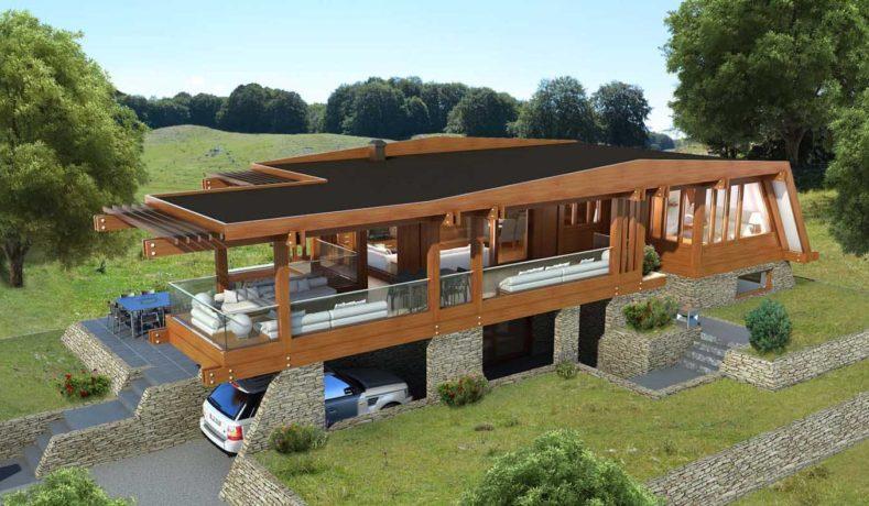 Boom delle case in legno vantaggi prezzi e indirizzi a for Case di legno rumene