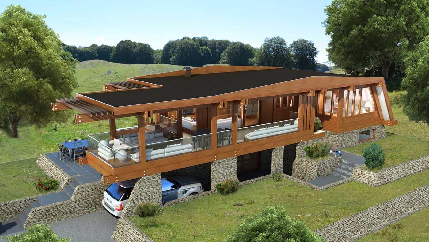 Boom delle case in legno vantaggi prezzi e indirizzi a for Case in legno dalla romania
