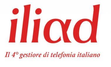 Iliad Italia quarto gestore di telefonia